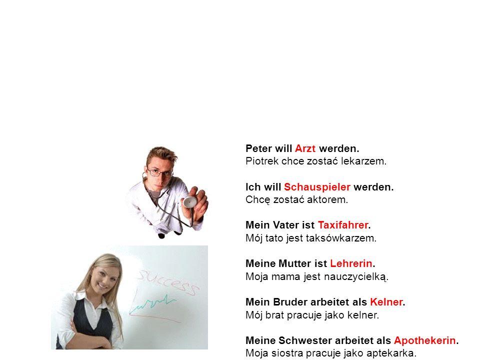 Przysłowia Bardzo często rodzajnik zerowy występuje także w niemieckich przysłowiach.