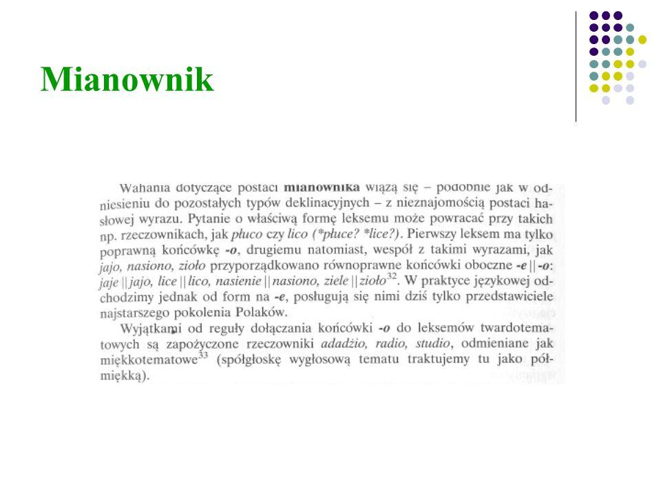 Mianownik