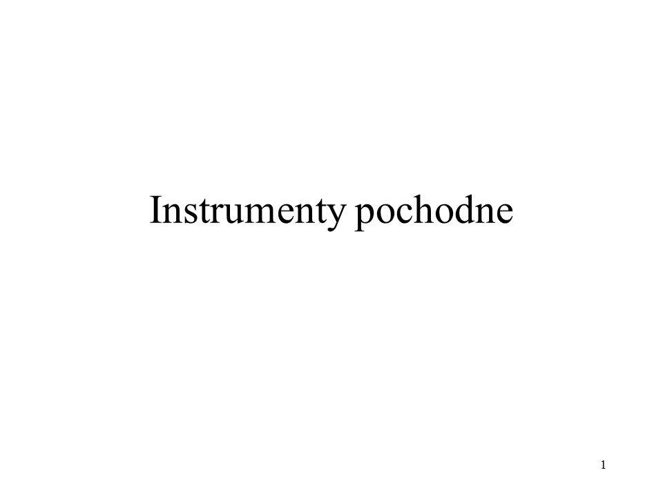 Instrumenty pochodne 1