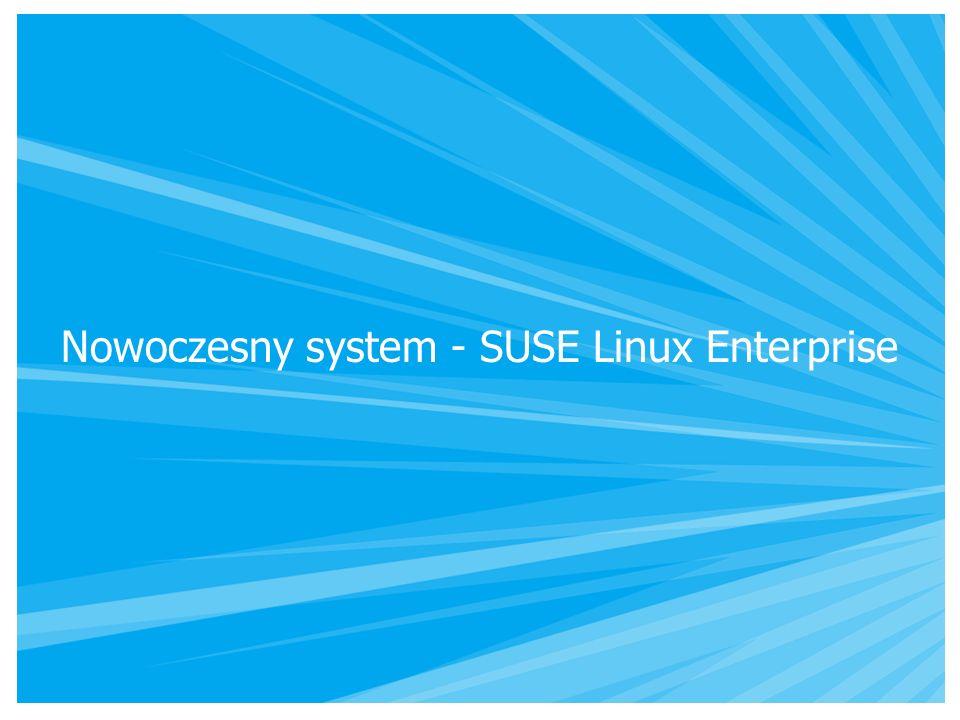 Nowoczesny system - SUSE Linux Enterprise