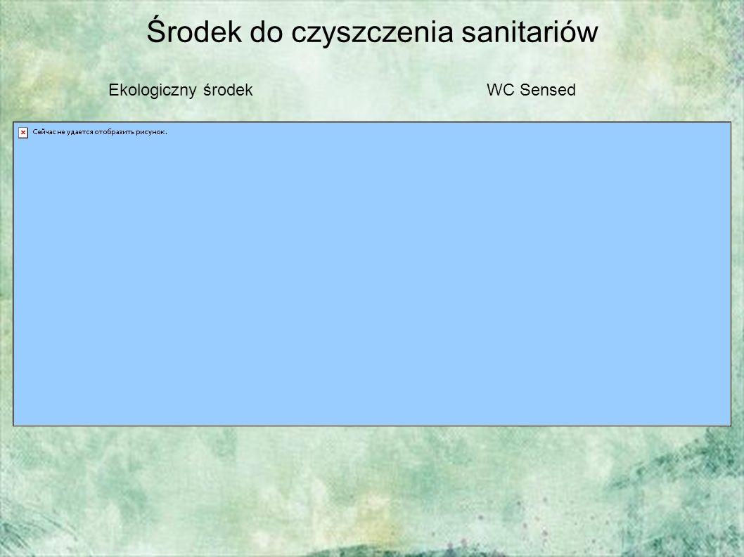 Środek do czyszczenia sanitariów Ekologiczny środekWC Sensed