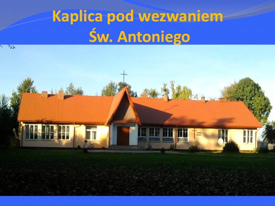 Kaplica pod wezwaniem Św. Antoniego