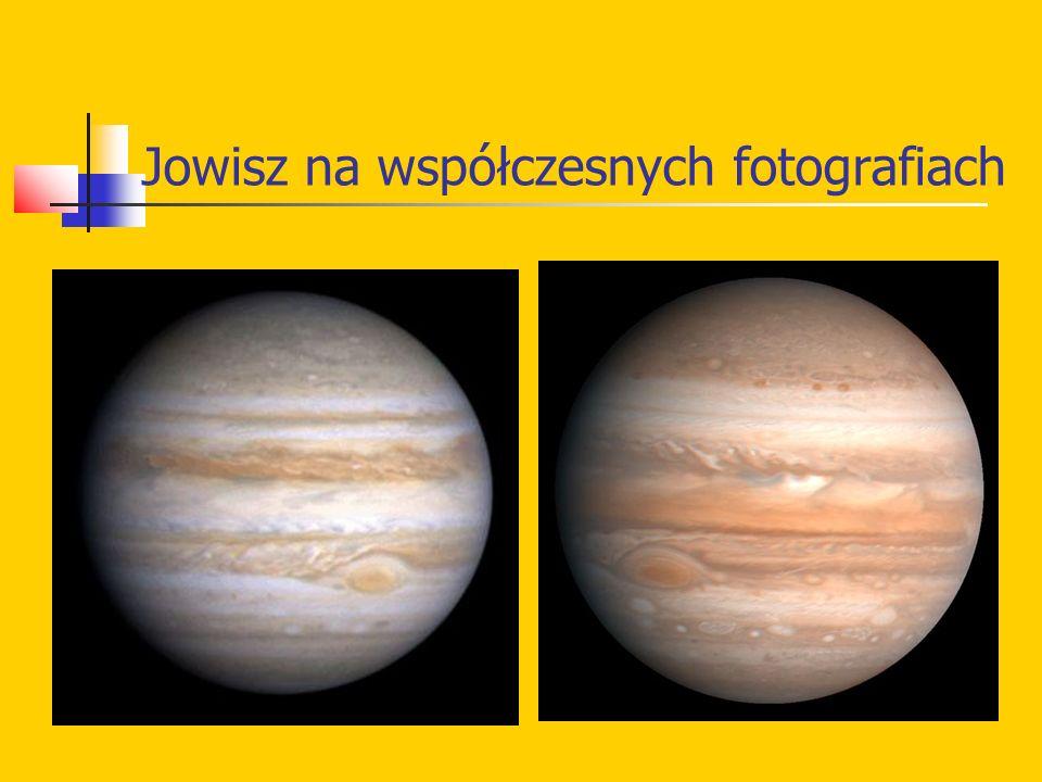 Jowisz na współczesnych fotografiach
