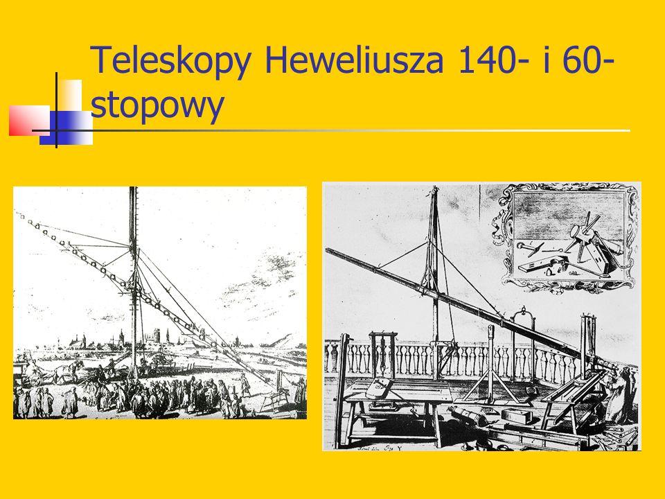 Teleskopy Heweliusza 140- i 60- stopowy