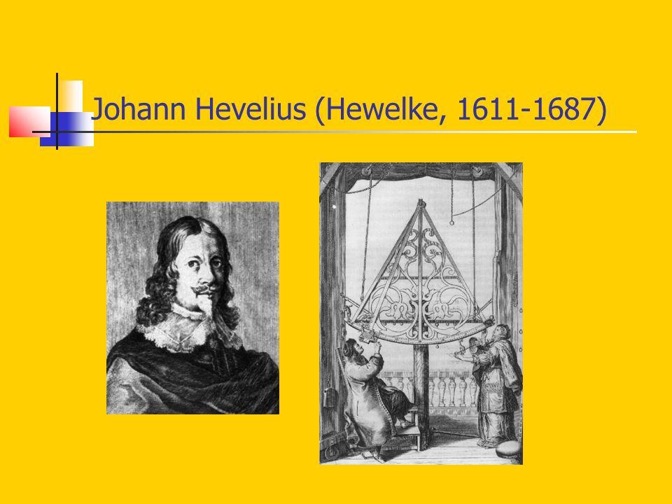 Johann Hevelius (Hewelke, 1611-1687)