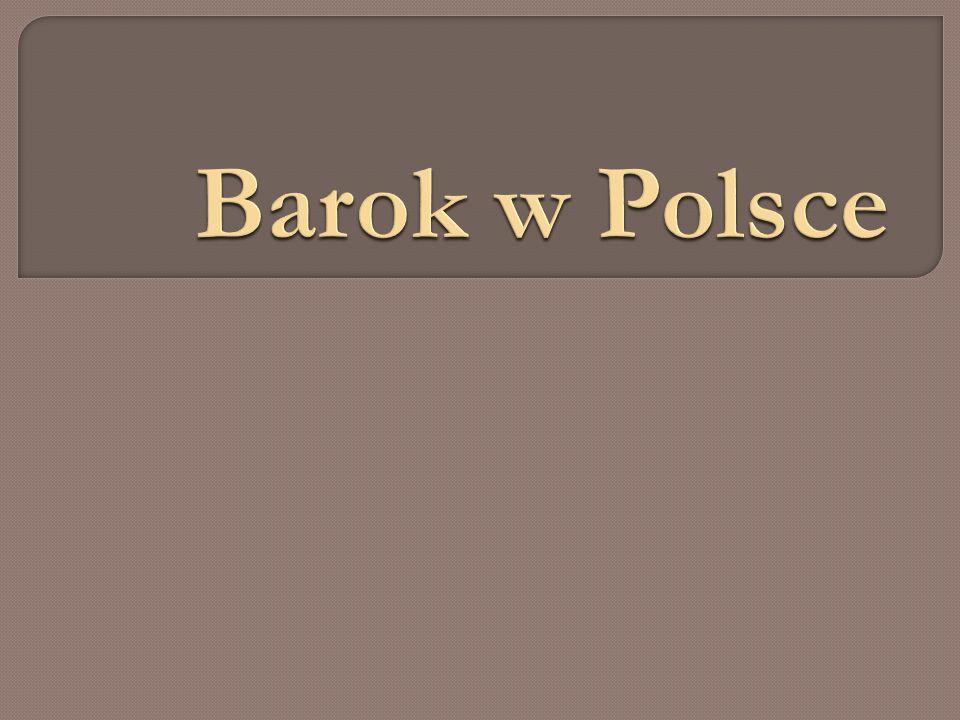 Do Polski docierały nurty europejskie zwłaszcza z krajów katolickich, jak Francja.