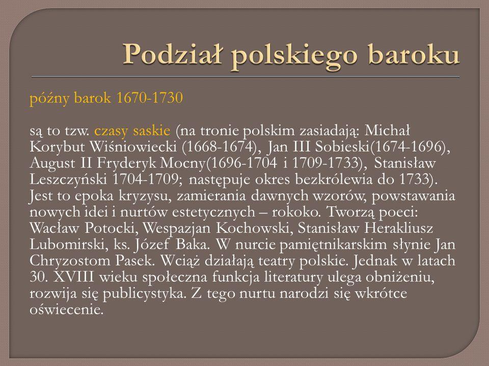 XVII w.należy zaliczyć do najtrudniejszych w dziejach Polski.