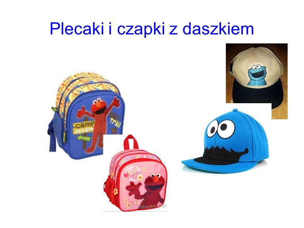 Plecaki i czapki z daszkiem