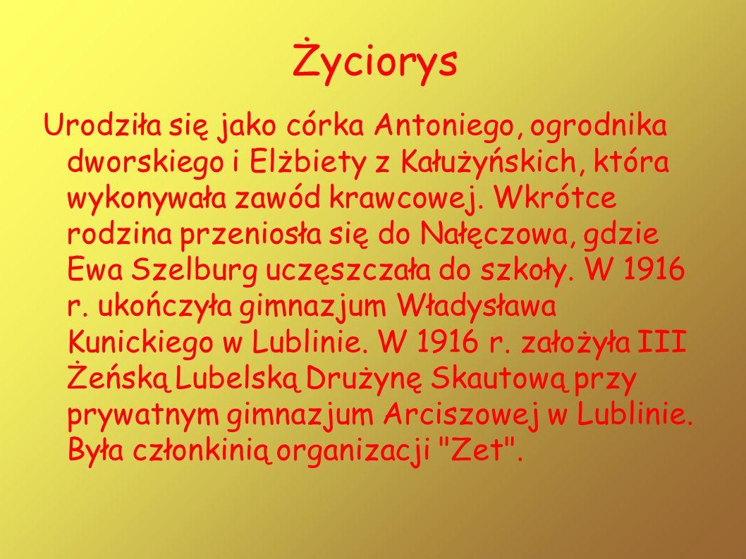 Życiorys Urodziła się jako córka Antoniego, ogrodnika dworskiego i Elżbiety z Kałużyńskich, która wykonywała zawód krawcowej.