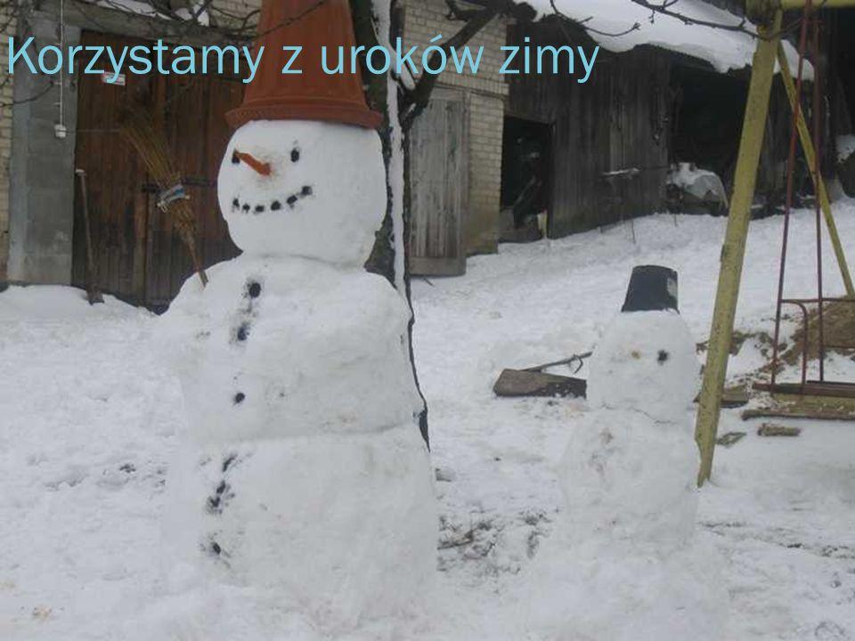 Korzystamy z uroków zimy