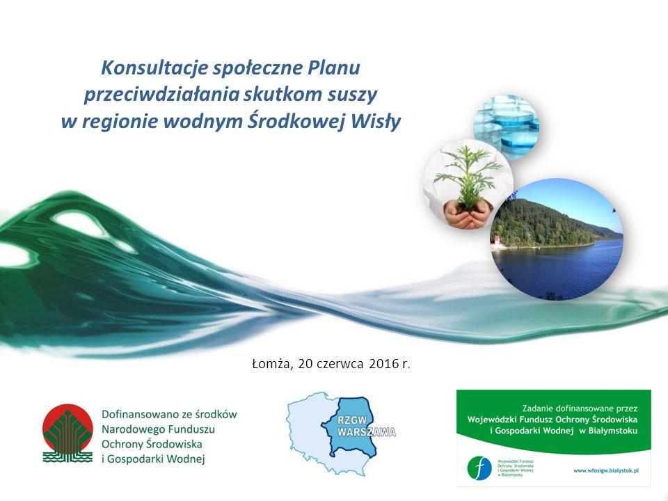 2 Wprowadzenie w tematykę suszy oraz opracowania Planów przeciwdziałania skutkom suszy