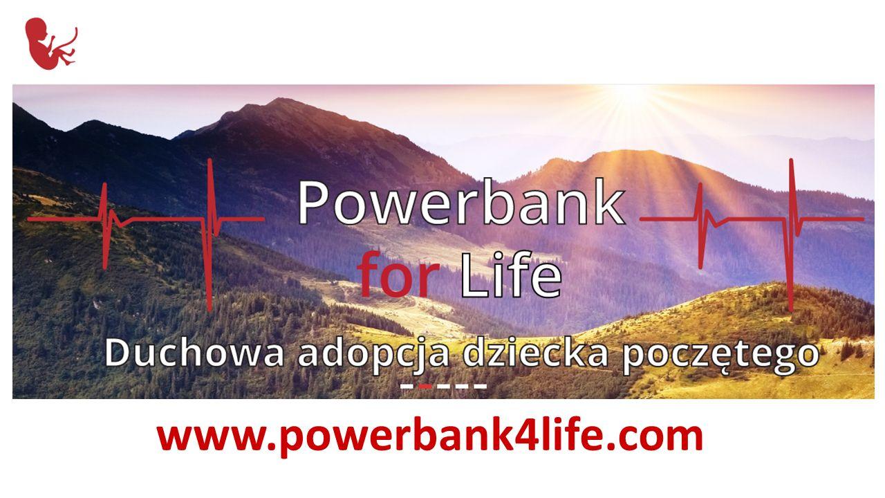 Zacznij od dziś!Start today! Powerbank for life www.powerbank4life.com