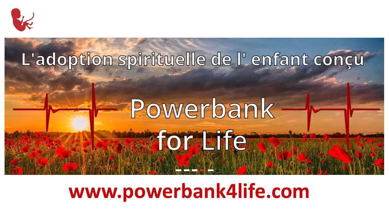 Aplikacja mobilna Powerbank for life Mobile application Powerbank for life www.powerbank4life.com