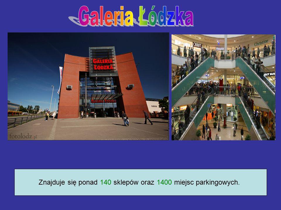 Znajduje się ponad 140 sklepów oraz 1400 miejsc parkingowych.