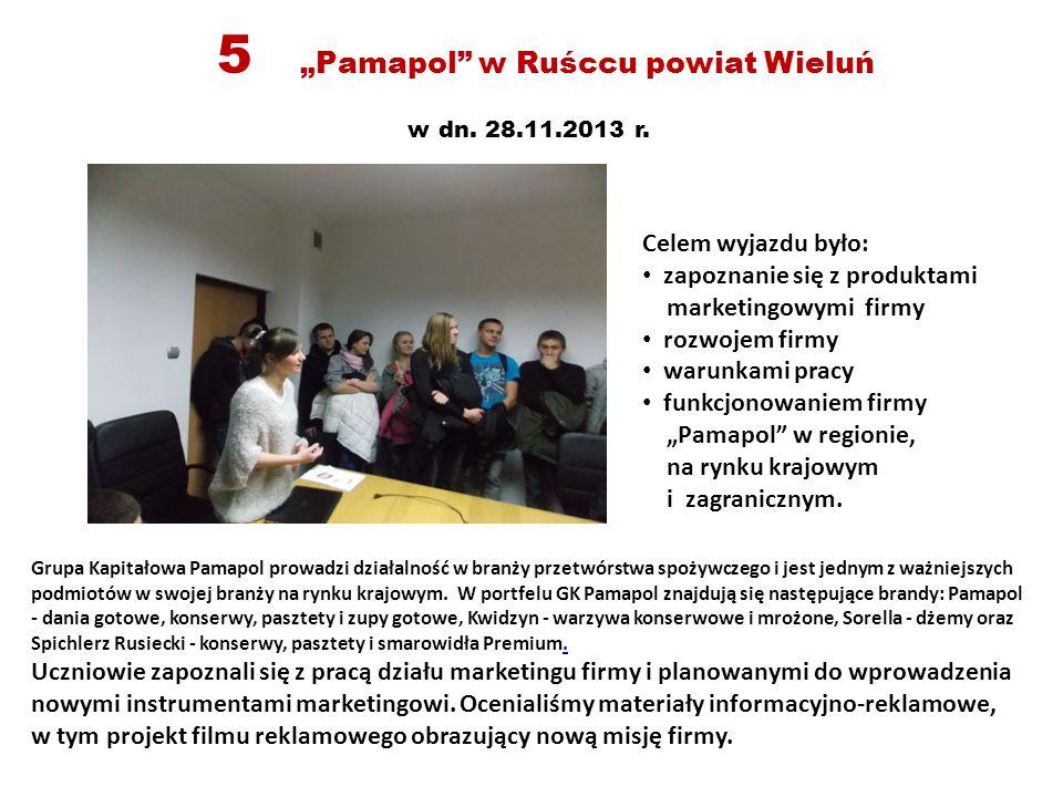 """5 """"Pamapol w Ruśccu powiat Wieluń w dn.28.11.2013 r."""