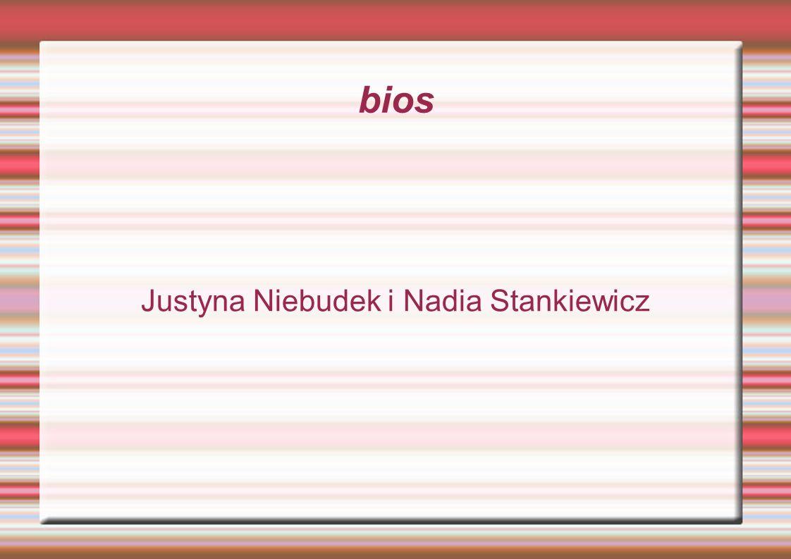 bios Justyna Niebudek i Nadia Stankiewicz