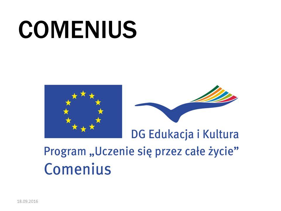 18.09.2016 COMENIUS - JAK TO WSZYSTKO SIĘ ZACZĘŁO.
