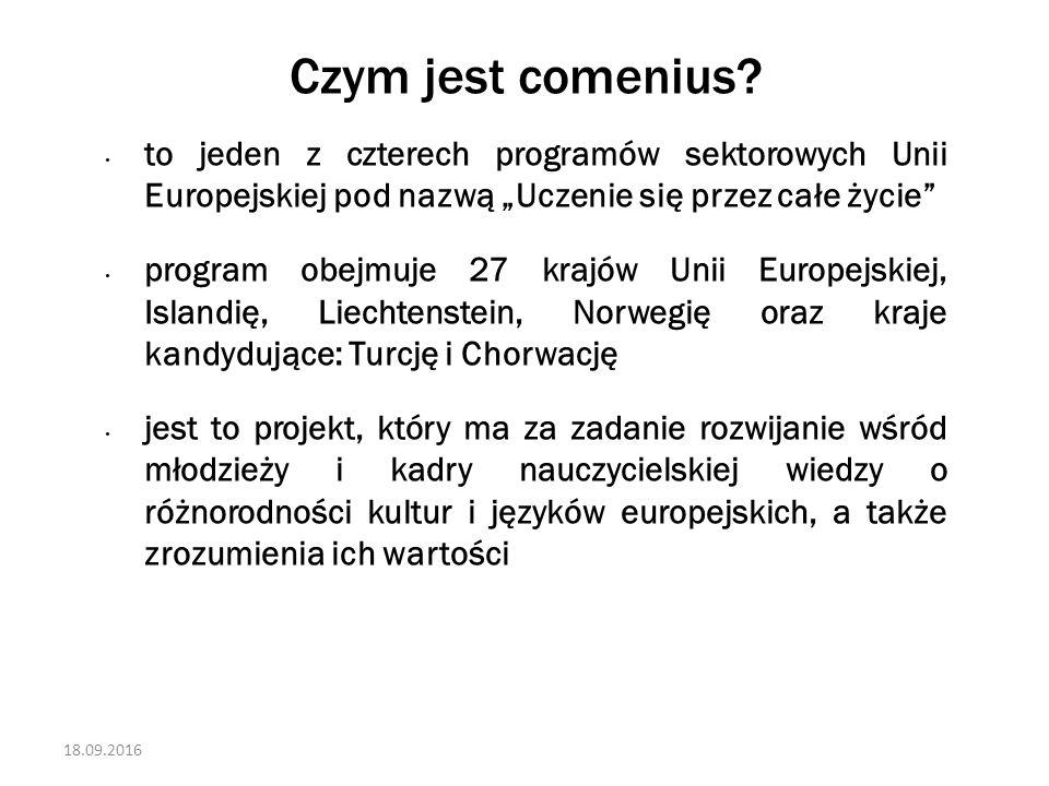 18.09.2016 Czym jest comenius.