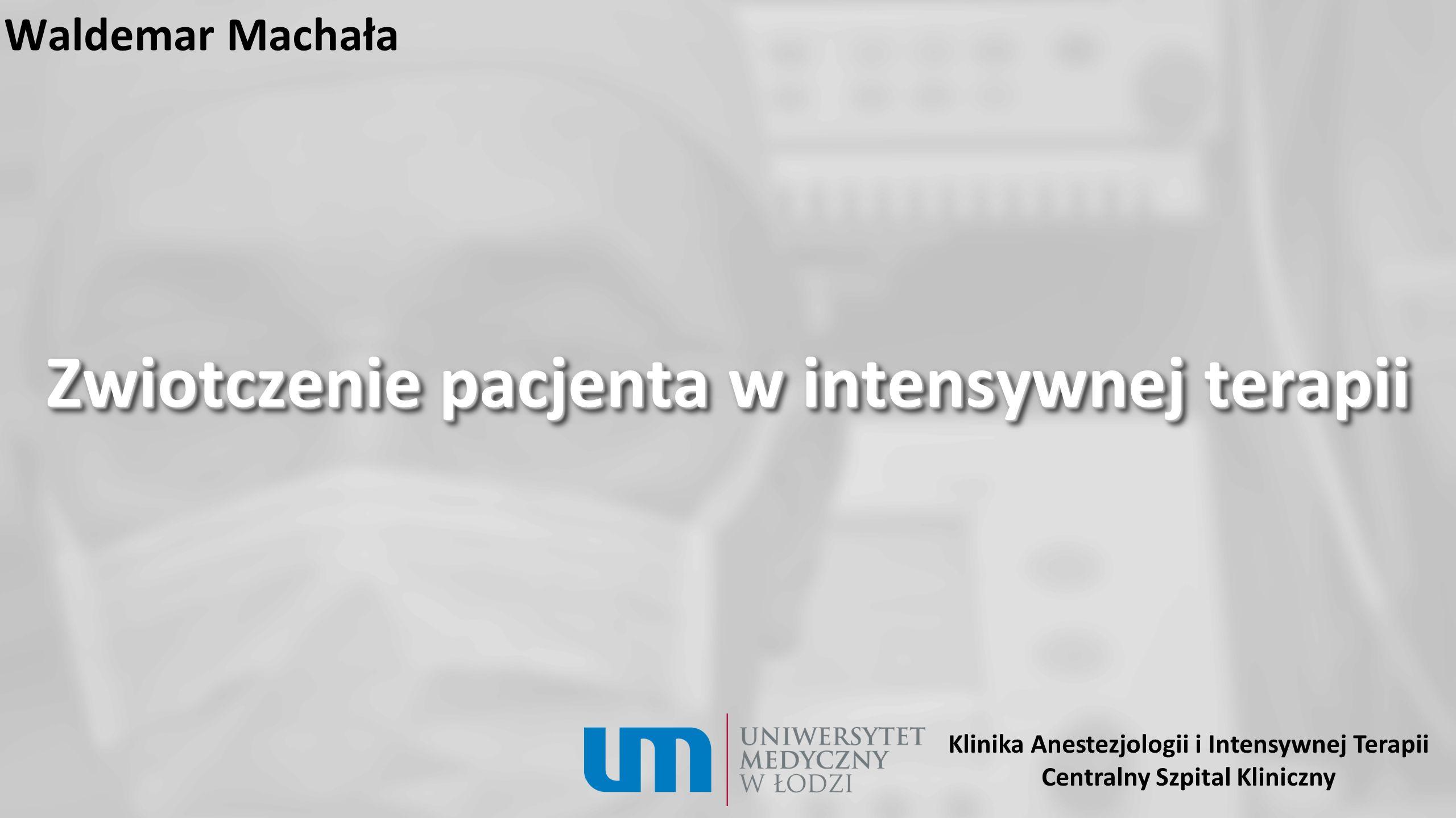 Wskazania 1.Rubenfeld GD, Herridge MS: Epidemiology and outcomes of acute lung injury.
