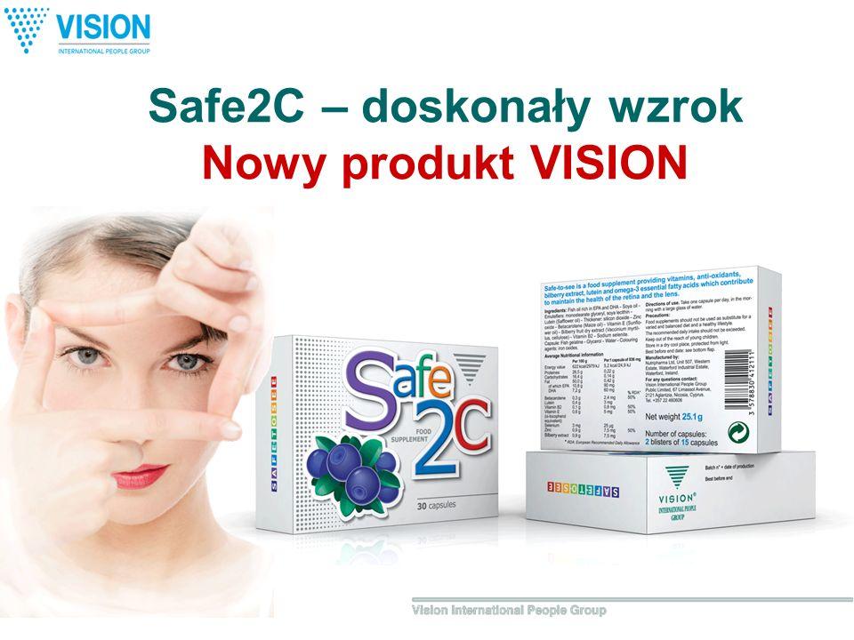 Safe2C – doskonały wzrok Nowy produkt VISION