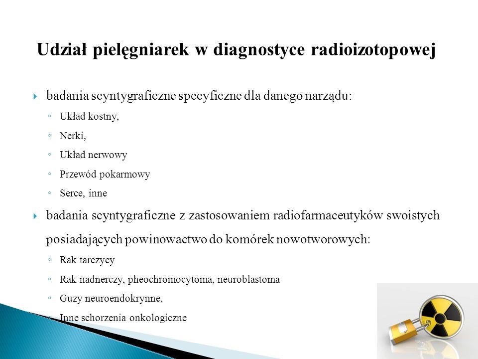 Treści nauczania I.Ochrona radiologiczna: 1.