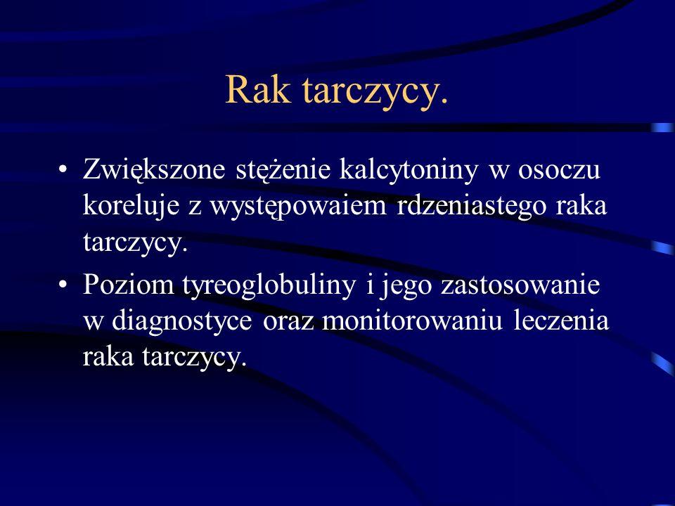 Rak tarczycy.