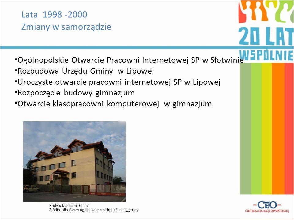 Lata 2002-2007 Prace remontowe SP w Lipowej 0d 2004r.