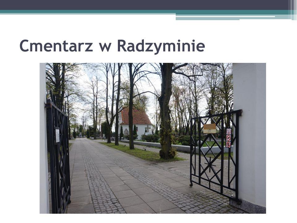 Cmentarz w Radzyminie