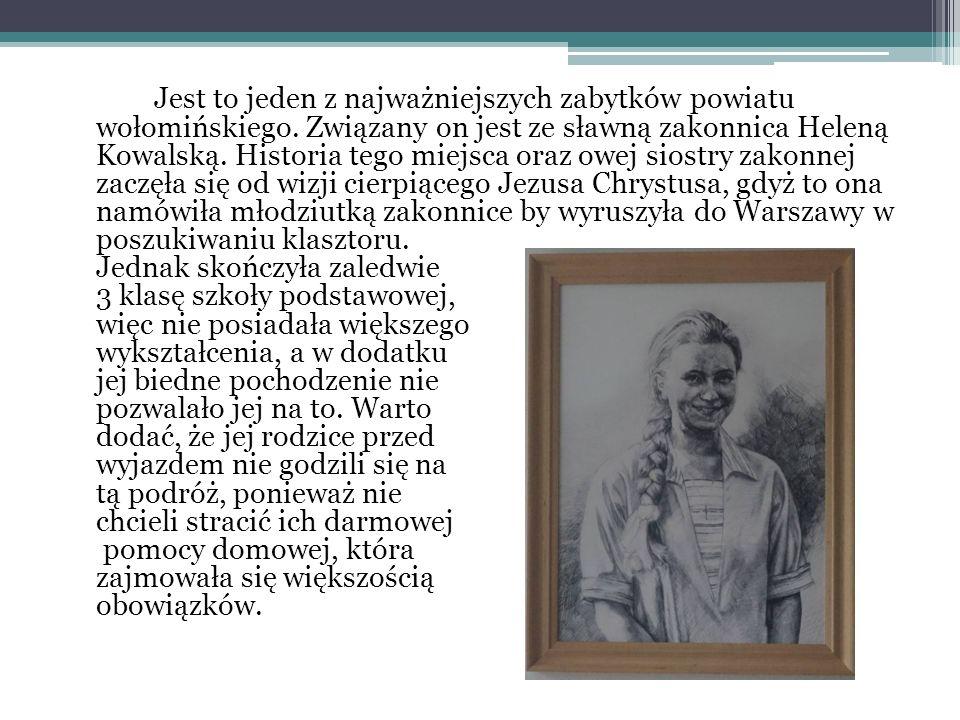 We wnętrzu znajdziemy rzeźbiarz Bolesława Jeziorańskiego, stare meble i wiele pamiątek po rodzinie Cypriana.
