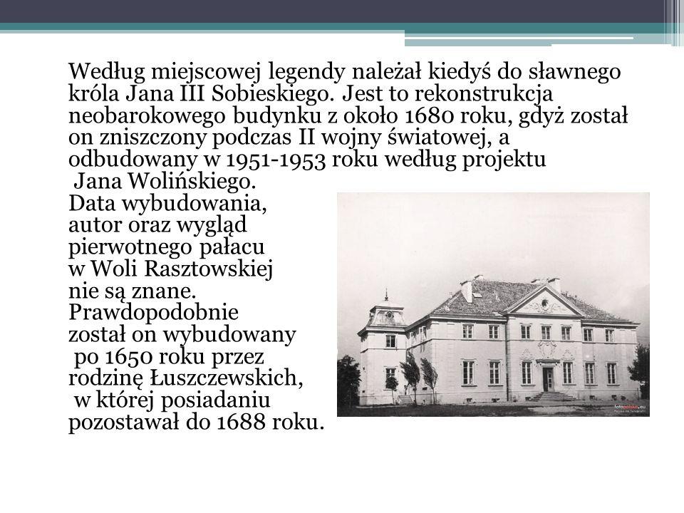 Według miejscowej legendy należał kiedyś do sławnego króla Jana III Sobieskiego.