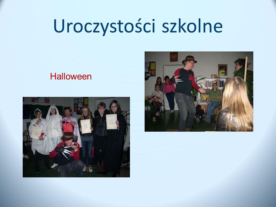 Uroczystości szkolne Halloween