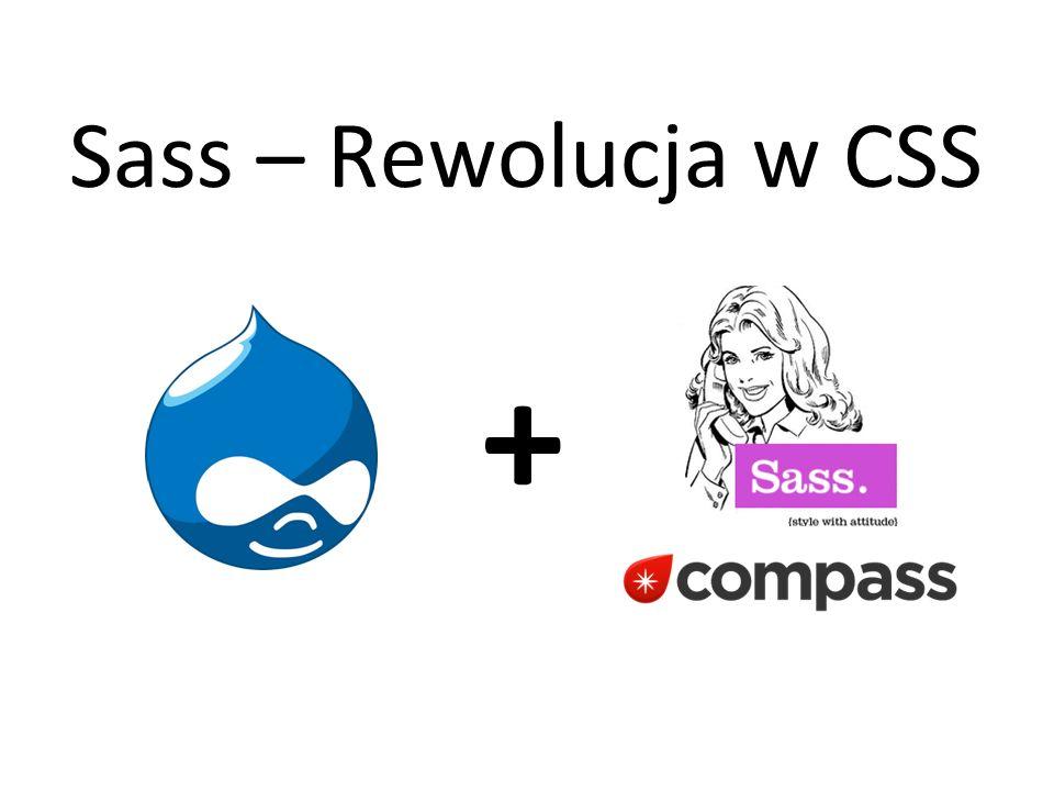 Sass – Rewolucja w CSS +