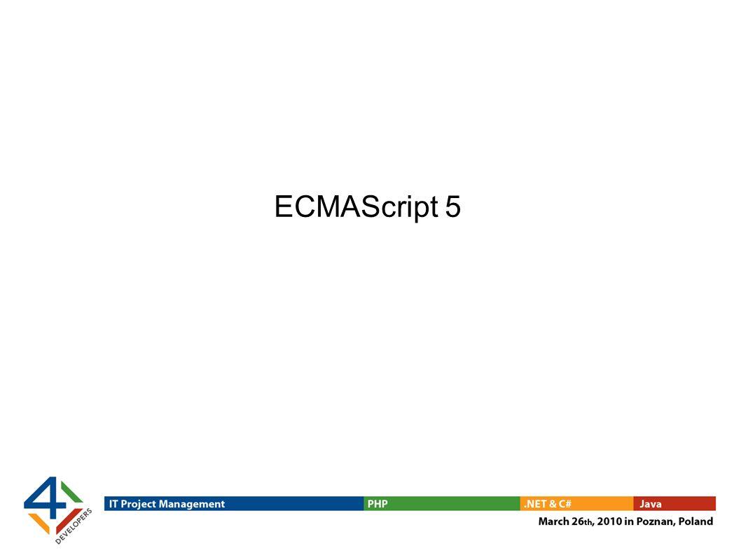 ECMAScript 5