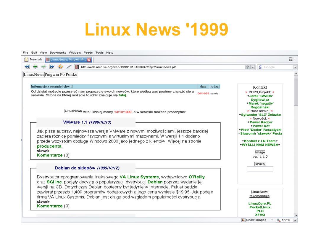 Linux News 1999