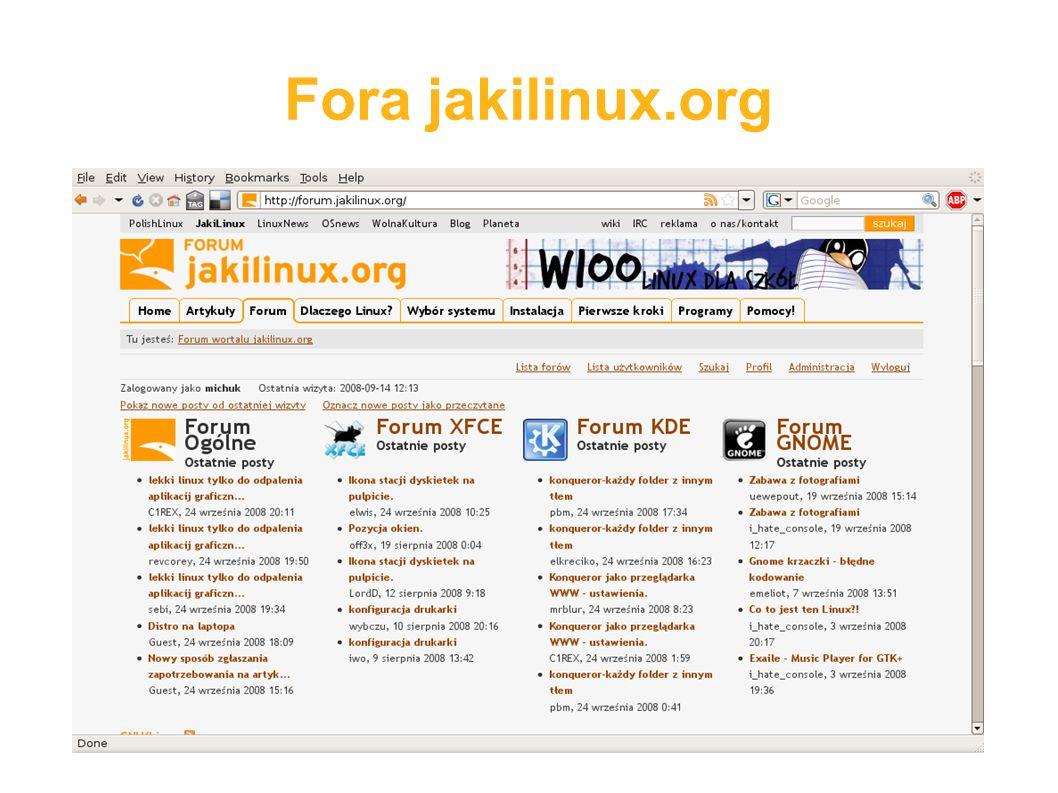 Fora jakilinux.org