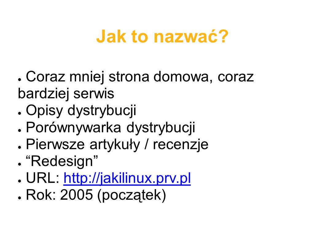 Pytania? Borys Musielak michuk@jakilinux.org