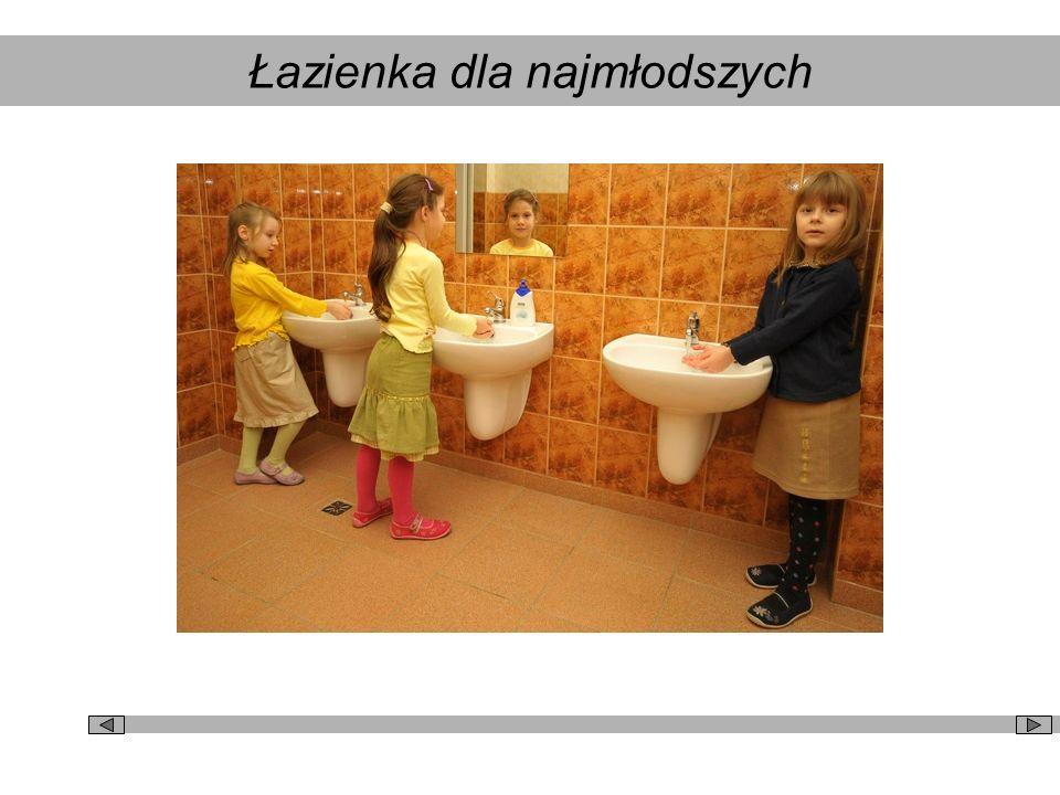 Łazienka dla najmłodszych