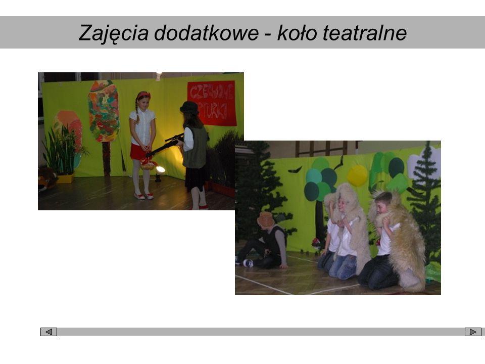 Zajęcia dodatkowe - koło teatralne