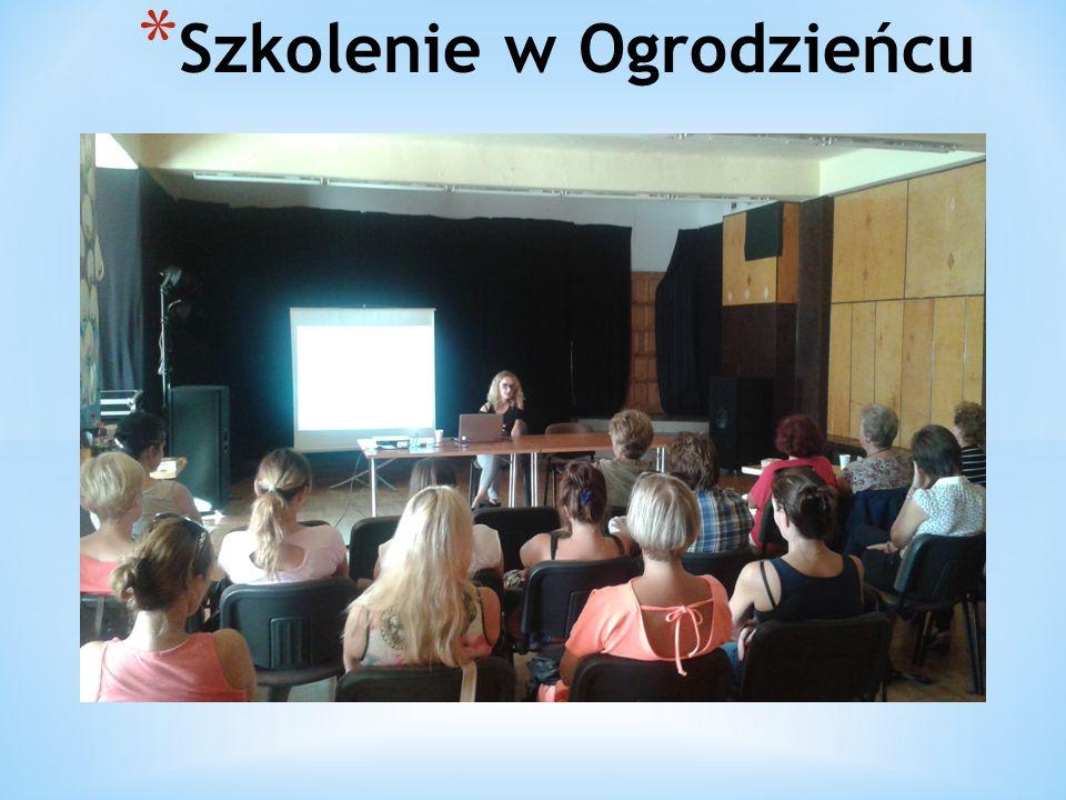 * Szkolenie w Ogrodzieńcu