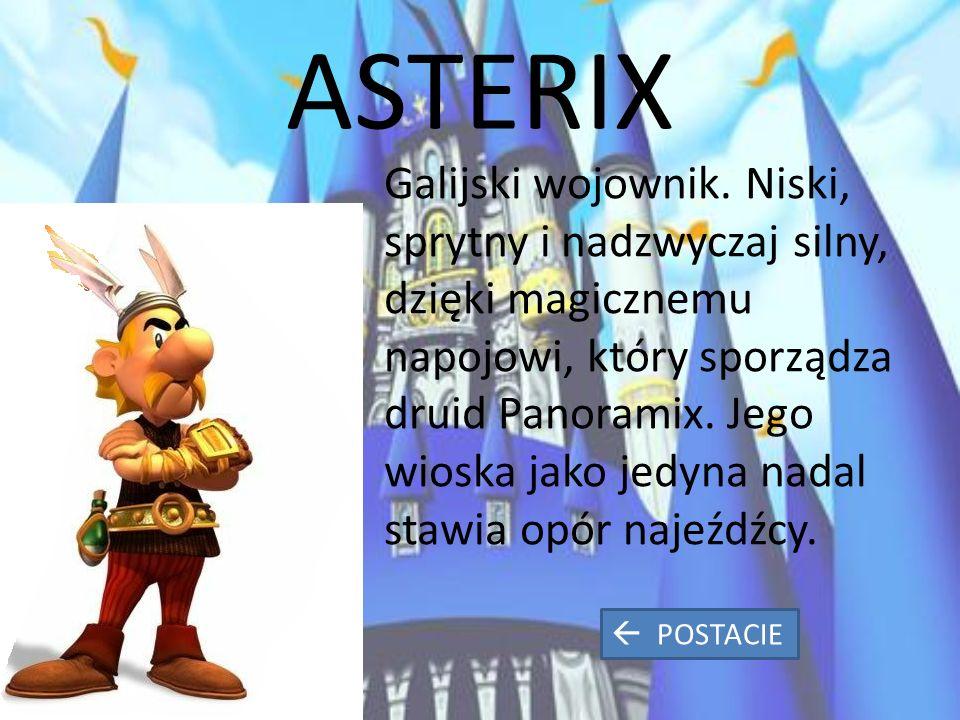 ASTERIX Galijski wojownik.