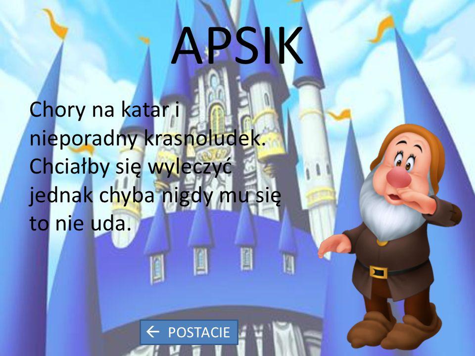 APSIK Chory na katar i nieporadny krasnoludek.