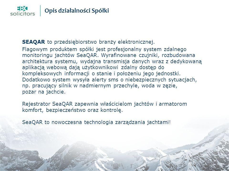 SEAQAR to przedsiębiorstwo branży elektronicznej.