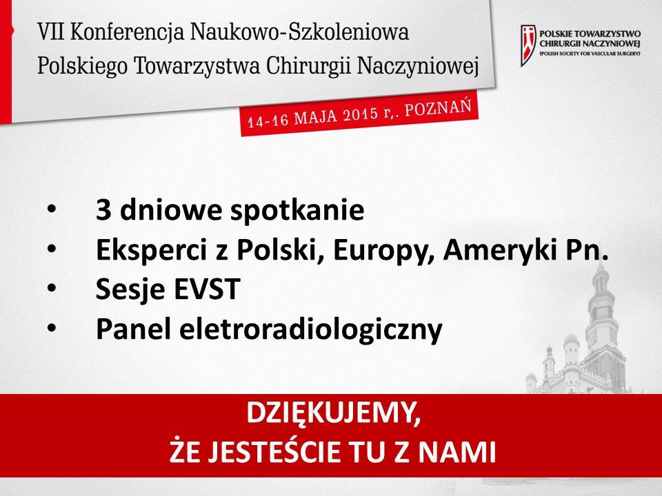 3 dniowe spotkanie Eksperci z Polski, Europy, Ameryki Pn.