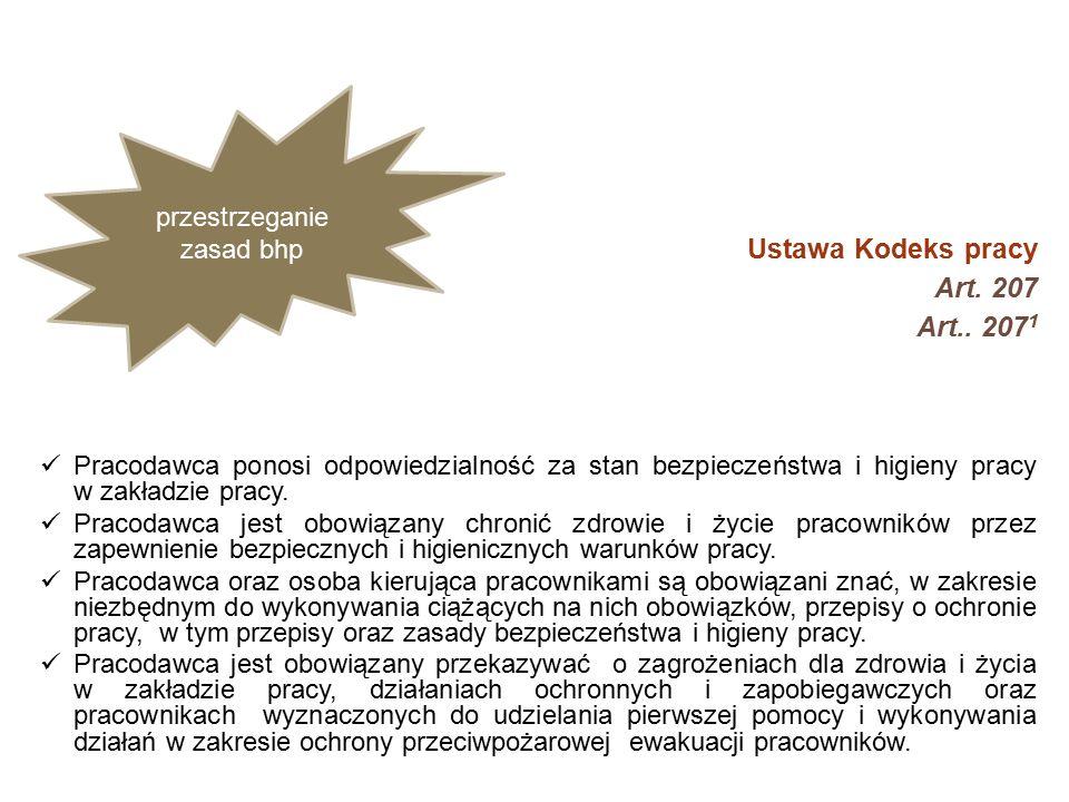 Ustawa Kodeks pracy Art. 207 Art..