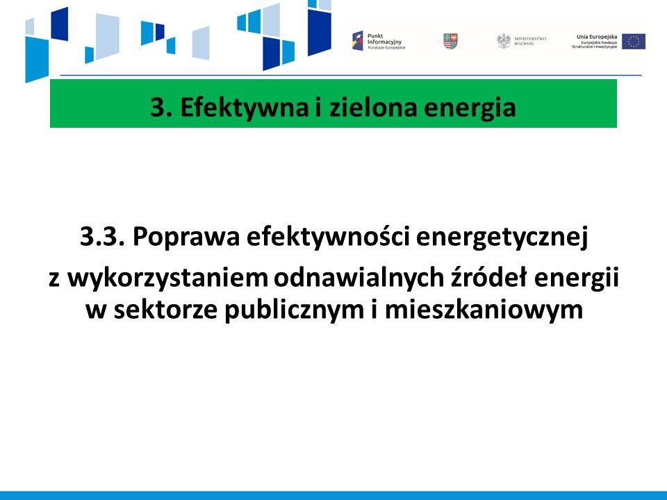 3. Efektywna i zielona energia 3.3.