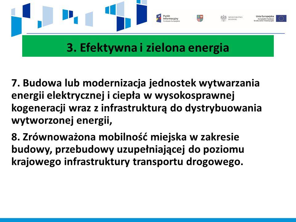3. Efektywna i zielona energia 7.