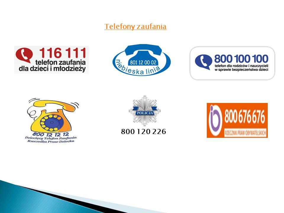 Telefony zaufania 800 120 226