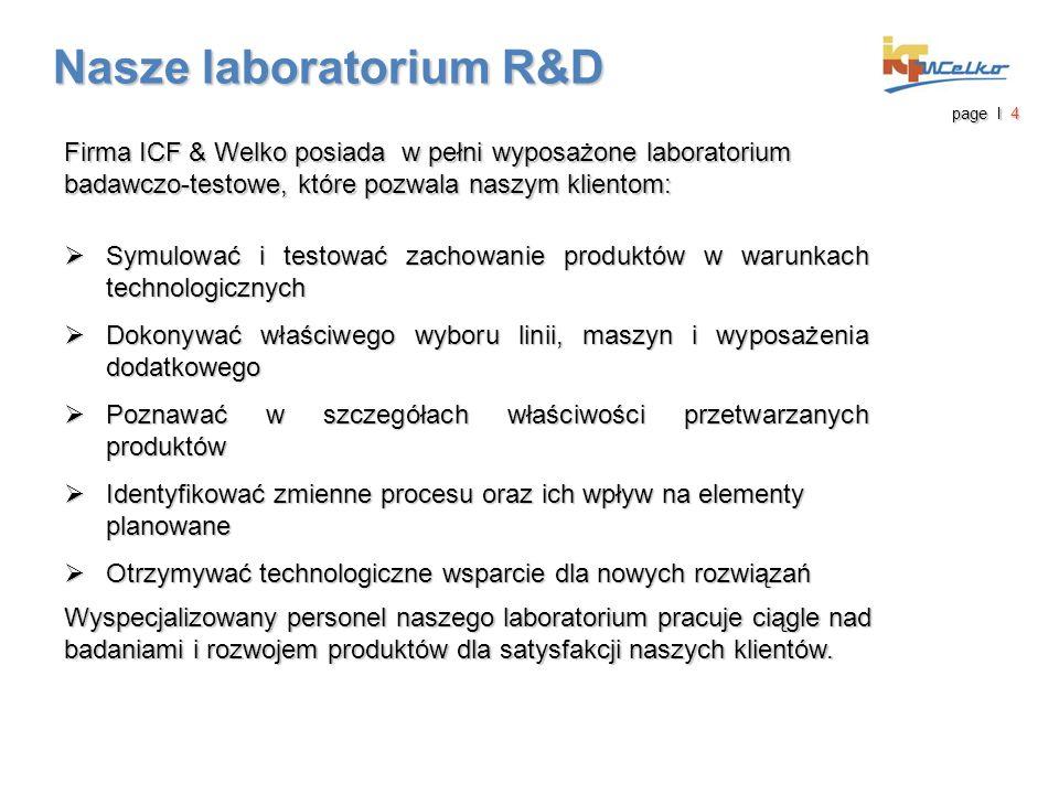 Nasze laboratorium R&D Nasze laboratorium R&D page I 5