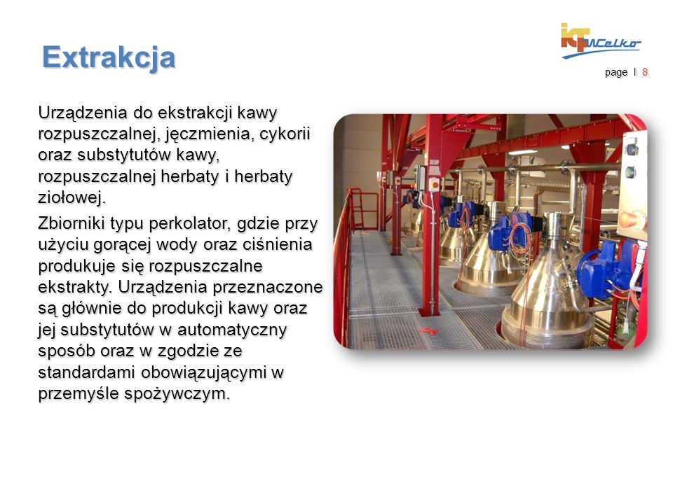 """Instalacja """"pod klucz TALL FORM Suszarka rozpyłowa do mleka sojowego i innych produktów mleczarskich i nie mleczarskich - 3000 kg/h wyparowanej wody Rosja page I 19"""