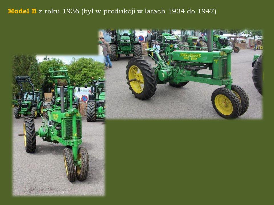 Model B z roku 1936 (był w produkcji w latach 1934 do 1947)